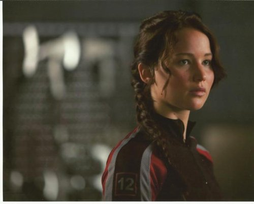 The Hunger Games Jennifer Lawrence as Katniss Everdeen In Training Gear 8 x 10 Photo
