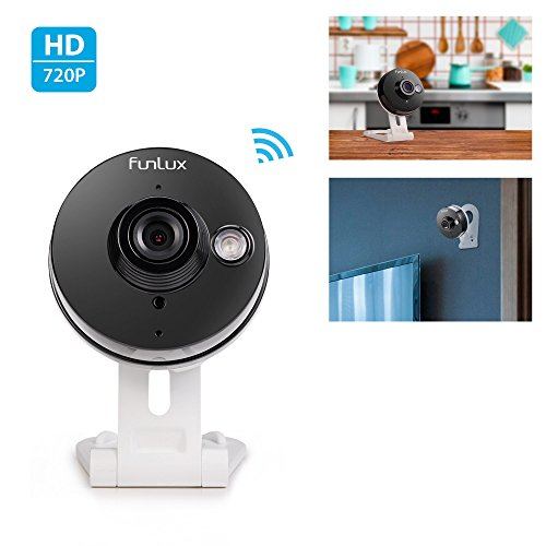 Cheap Funlux 720p HD Wireless Smart Home Day Night Security Surveillance Camera