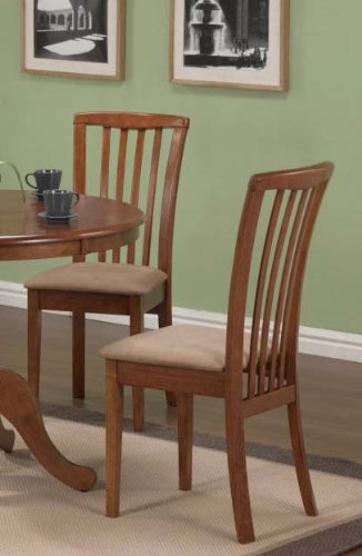 Dining Chairs Microfiber Fabric Finish