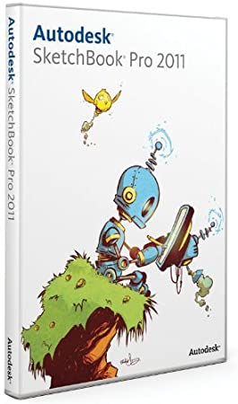 Autodesk Sketchbook Pro 2011 (Bilingual Software)