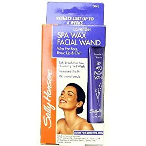Lavender spa wax facial wand