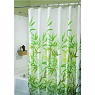 Interdesign 36524 Graphic Fabric Shower Curtain
