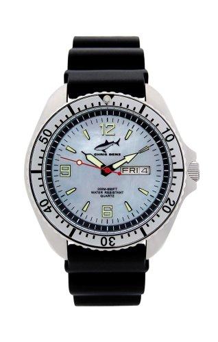 Chris Benz One Man CBO-H-SI-KB Elegante orologio da uomo Orologio da immersione