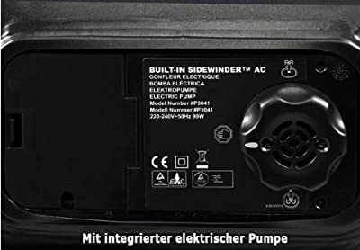 Premium-Luftbett Gästebett Matratze mit integrierter elektr. Pumpe-selbstaufblasend
