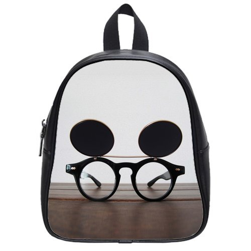 Harry James Potter Glasses High-Grade Pu Leather School Bag/Backpack(Medium) front-223910