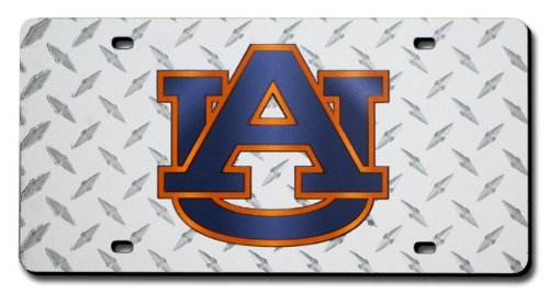Poster Revolution (6X12) Auburn University Diamond Cut Ncaa Tin License Plate