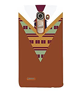 College Winter Dress Pattern Cute Fashion 3D Hard Polycarbonate Designer Back Case Cover for LG G4 Mini :: LG G4c :: LG G4c H525N