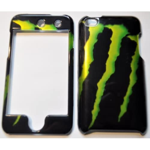 Amazon.com: IPOD TOUCH 4 MONSTER ENERGY BIG FULL CASE/COVER/FACEPLATES