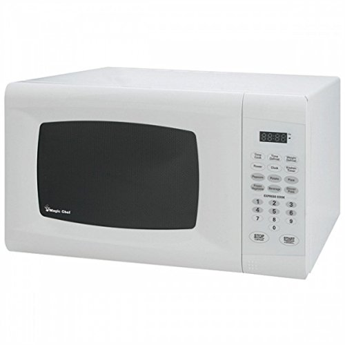 Magic Chef White 0.9 Cu Ft 900 Watt Microwave With Digital Touch Mcm990W