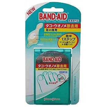 バンドエイド タコウオノメ除去用 足の指