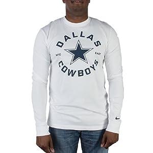 Dallas Cowboys Stamp It LS T-Shirt Medium by Nike