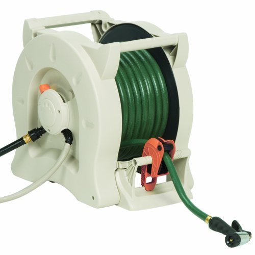 NEW Suncast 100 FT Water Powered Automatic Garden Hose Reel Hydro