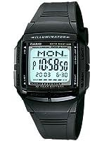 Casio - DB-36-1A - Databank - Montre Mixte - Quartz Digital - Cadran LCD - Bracelet Résine Noir