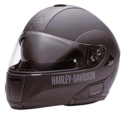 Harley-Davidson-EC-98211-10E-Casco-modular-con-visera-solar-mate