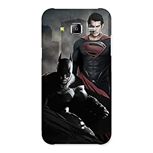knight Vs day Ready Multicolor Print Back Case Cover for Samsung Galaxy J5