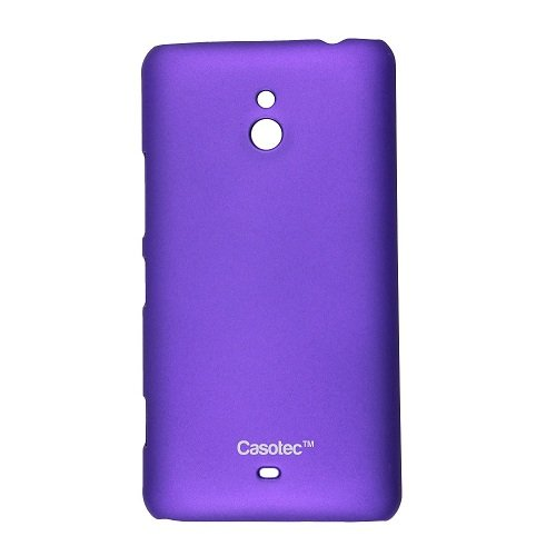 Casotec Ultra Slim Hard Shell Back Case Cover for Nokia Lumia 1320 - Purple  available at amazon for Rs.125
