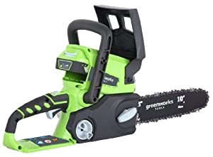 Greenworks Tools 25cm (10'') 24V Lithium-Ion Cordless Battery Chainsaw