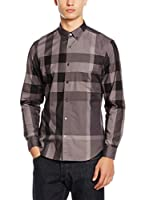 Burberry Camisa Hombre (Taupe / Gris)
