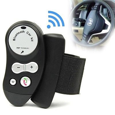 Car Steering Wheel Bluetooth Wireless Handfree Speaker Kit For Mobile Cell Phone Bt-005