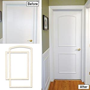 30 in and 32 in width interior door self for Door frame kit