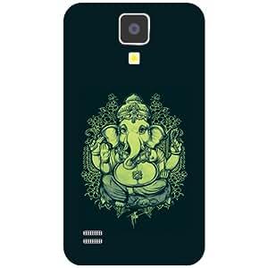 Printland Ganesh Ji Phone Cover For Samsung I9500 Galaxy S4