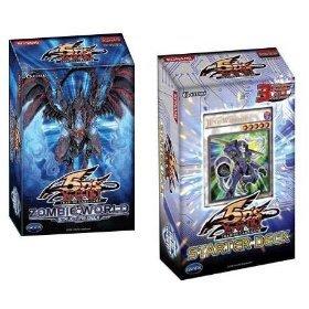 2008 Yu-Gi-Oh! 5D's Starter Deck Combo - Get Both 5D Theme Decks Set Of 2 (Zombie World + Junk Warrior) (Starter Deck Junk Warrior compare prices)
