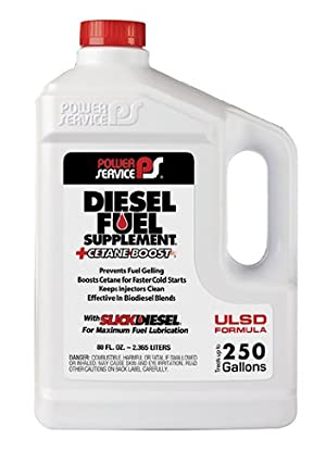 Power Service 1080-06 +Cetane Boost Diesel Fuel Supplement Anti-Freezer