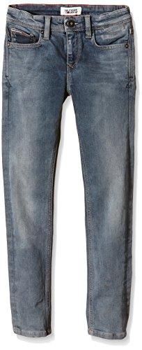 Tommy Hilfiger Kids - Scanton Slim Odbcw, Jeans da bambini e ragazzi, od black comfort wash  911, 10