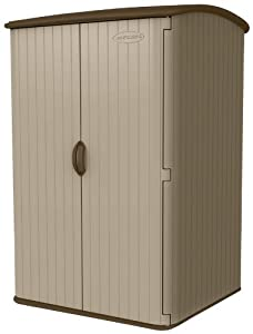 Suncast 98-cubic Foot Horizontal Blowmolded Shed from Suncast