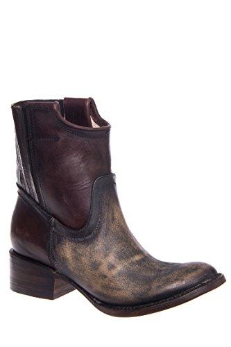 Merlot Low Heel Boot
