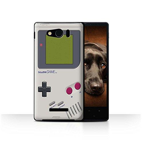 STUFF4 Phone Case / Cover for Sharp Aquos Xx Mini 303SH / Nintendo Game Boy Design / Games Console Collection (Sharp Aquos Nintendo Case compare prices)