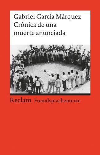 Buchseite und Rezensionen zu 'Crónica de una muerte anunciada: (Fremdsprachentexte)' von Gabriel García Márquez