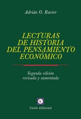 LECTURAS DE HISTORIA DEL PENSAMIENTO ECONOMICO