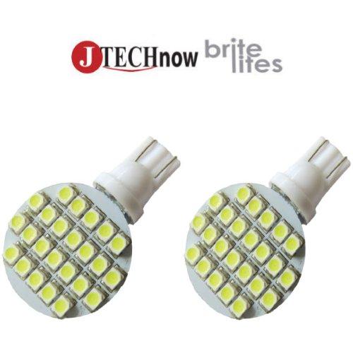 Jtech 2X T10 921 194 24- Smd Led Bulb Super Bright Cool White