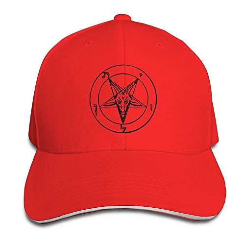 ysc-dier-baphomet-church-of-satan-stylish-baseball-adult-unisex-cap-red
