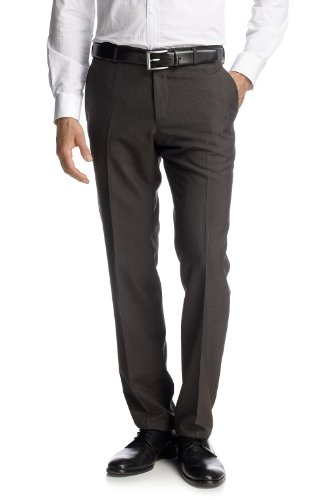 Esprit Collection Men's 092Eo2B014 Suit Trousers Brown (209 Chocolate Brown) 56
