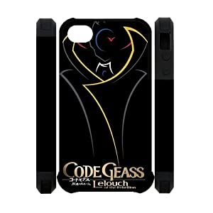 Custom Your Own Unique Code Geass 3D Polymer iPhone 4/4S Cover Snap on Code Geass iPhone 4 Case