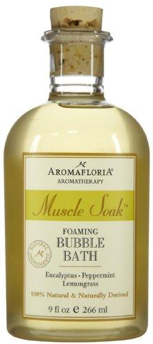 Aromafloria Muscle Soak Bubble Bath, Eucalyptus, 9 oz 9 Ounce Bath