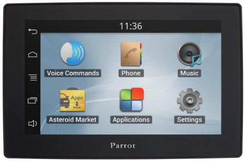 Asteroid TABLET - In-car multimedia system with Apps, Music and Bluetooth hands-free (Parrot Asteroid Mini compare prices)