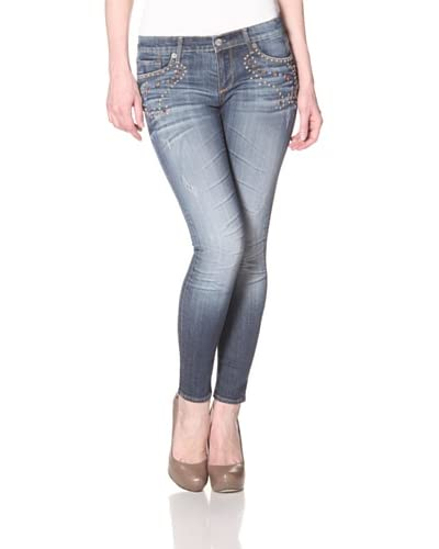 Driftwood Women's Skinny Jean  - Medium Wash