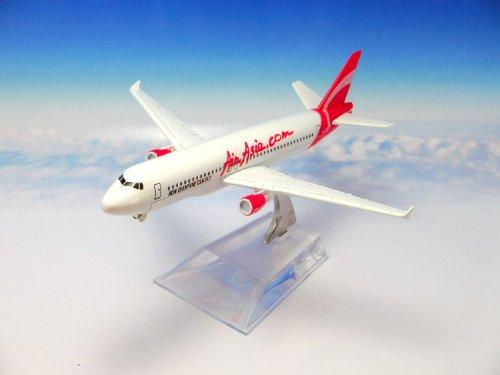 飛行機 模型 ダイキャスト製/航空機:エアアジア/マレーシア エアバスA320