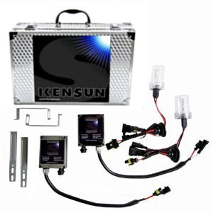 Kensun Hid Xenon Conversion Kit H11 - 6000K (Bright White With A Tint Of Blue Color) With Slim Ballasts - 2 Year Warranty