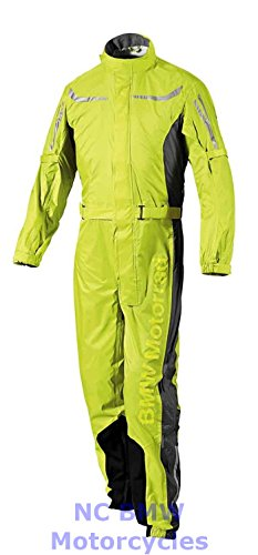 BMW Genuine Motorcycle Unisex ProRain Rain Overall Riding Unisex Suit Yellow L (Bmw Riding Gear compare prices)