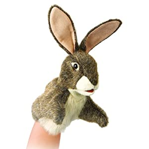 Folkmanis Little Hare Puppet by Folkmanis