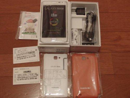 docomo Galaxy Note SC-05D 白ロム