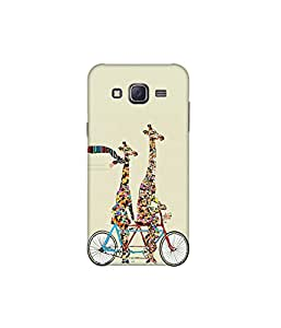 Kolor Edge Printed Back Cover For Samsung Galaxy On5 - Multicolor (8021-Ke10762SamOn5Sub)