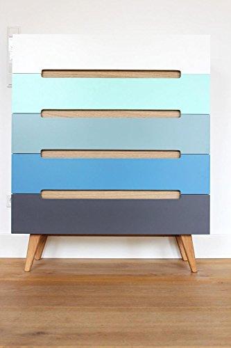 Schubladenkommode-Linsell-Sideboard-Highboard-bunt-modern-Design-Eiche-MDF