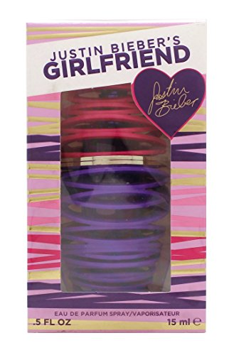 Justin Bieber Girlfriend Eau de Parfum 15ml Spray