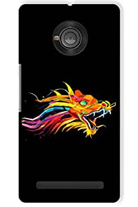 IndiaRangDe Hard Back Cover FOR Micromax YU Yuphoria