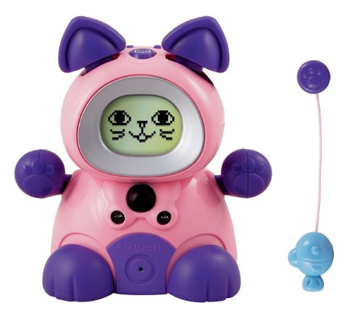 Vtech Kidiminiz KidiCat Interactive Pet Cat - Pink Kitten - 1